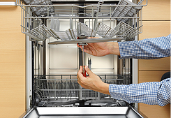 Technician Fixing Dishwasher, Appliance Repair Services in  Albany, NY